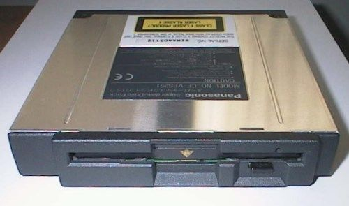 Panasonic Toughbook CF-25 CF25 LS-120 Super-Floppy Disk Drive 120MB