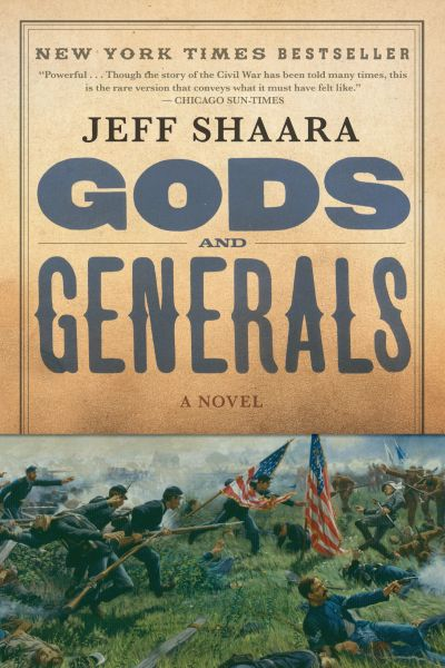 GODS AND GENERALS (PAPERBACK)
