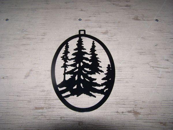 Trees Welcome Door Hanger