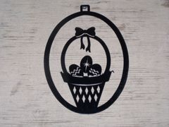 Easter Basket Welcome Door Hanger