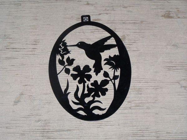 Hummingbird Welcome Door Hanger