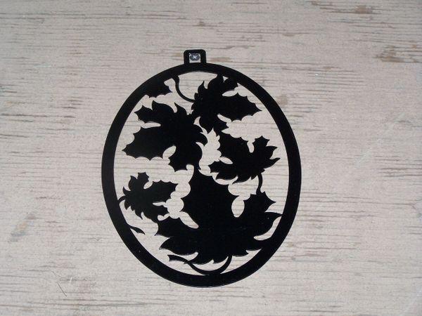 Autumn Leaf Welcome Door Hanger