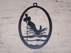 Waterskiing Welcome Door Hanger