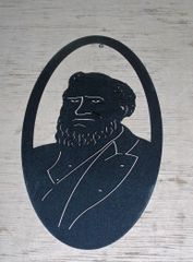 Brigham Young 20'' Oval Wall Art