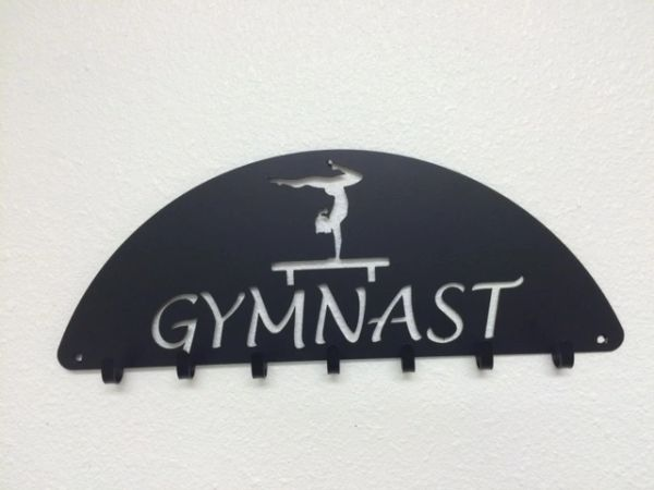 Gymnast medal hook