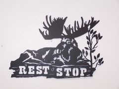 Rest Stop Moose