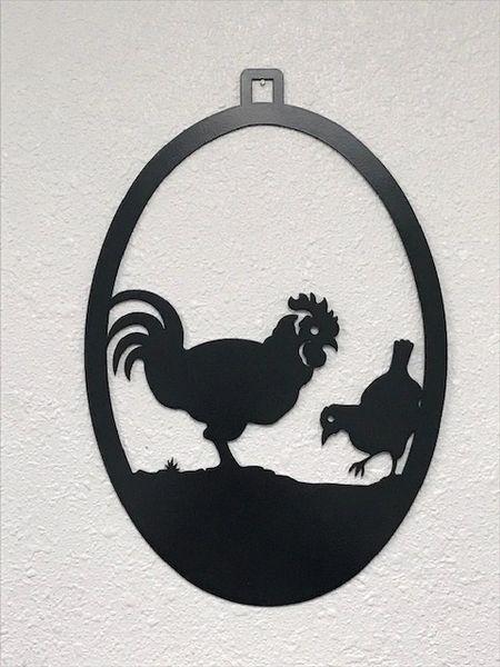 Chicken Welcome Door Hanger