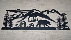 Bear Family 38'' Wall Art