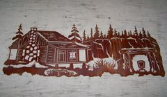 Cabin 46'' Wall Art