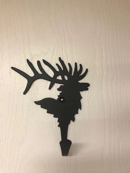 Elk Head Single Hook