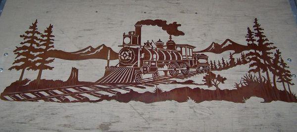 Train 60'' Wall Art