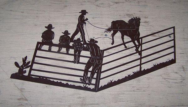 "Horse Training 30"" Wall Art"