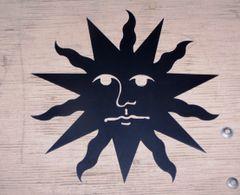 """Sun 35"""" Wall Art"""