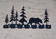 Bear with Trees 7 Key Hook