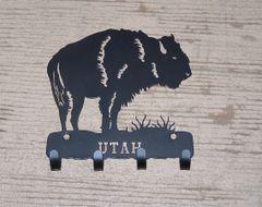 Utah Buffalo 4 Key Hook