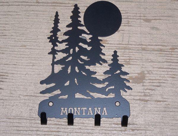 Montana Trees 4 Key Hook