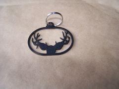 Deer Antlers Key Ring