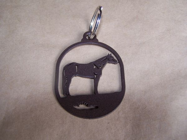 Standing Horse Key Ring
