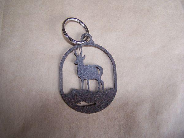 Antelope Key Ring