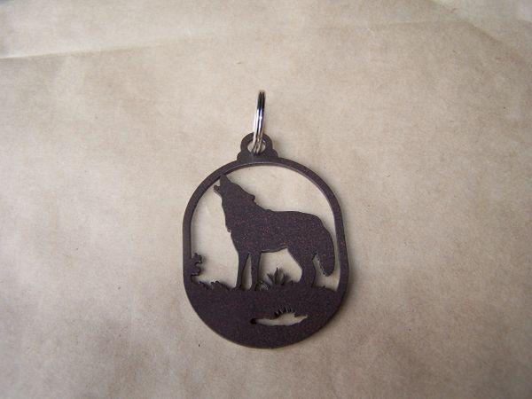 Wolf Key Ring