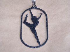 Dancer Key Ring