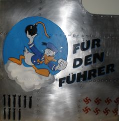 Custom Painted Nose Art Panel (From your submitted artwork) NAP-0118