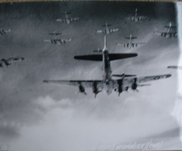 Boeing B-17 Flying Fortresses In Formation Photo PHO-0105