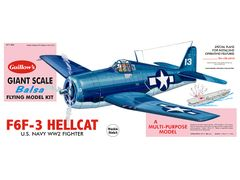 Guillow's Grumman F6F-3 Hellcat Balsa Wood Model Airplane Kit GUI-1005