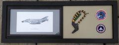 McDonnell Douglas F-4 Phantom II Framed Memorabilia PI-0102