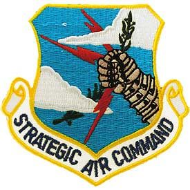 """SAC Embroidered Shoulder Patch, 3"""" PAT-0109"""
