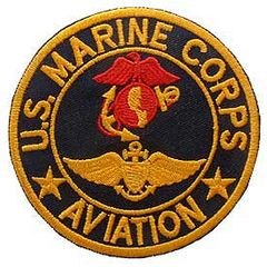 "USMC Aviation Embroidered Patch, 3"" PAT-0120"