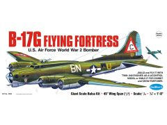 Guillow's Boeing B-17 Flying Fortress Balsa Wood Model Airplane GUI-2002