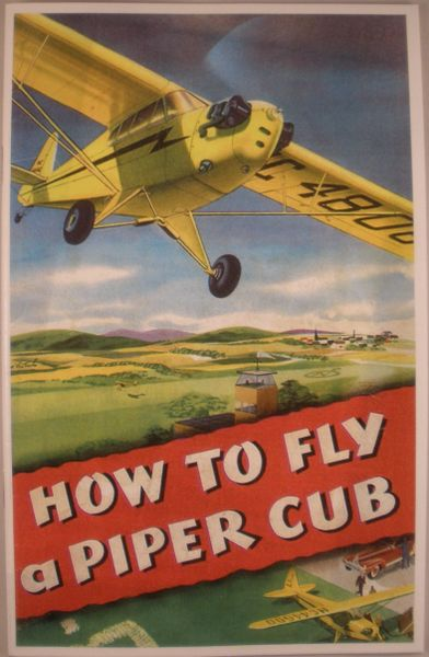 """How To Fly A Piper Cub"" Booklet LIT-0118"