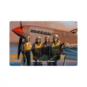Tuskegee Airmen Metal Sign SIG-0141-A