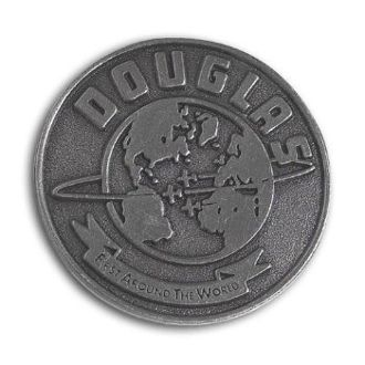 "Douglas ""First Around the World"" Lapel Pin BOE-0106"