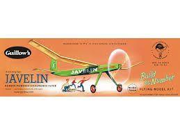 Guillow's Javelin Balsa Wood Flying Model Airplane Kit GUI-603