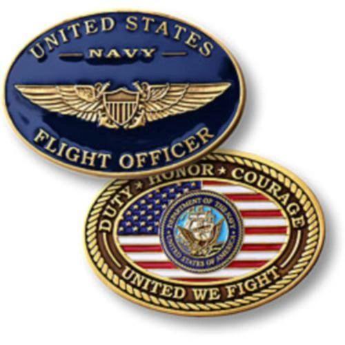 Navy Flight Officer Challenge Coin NTM-60115