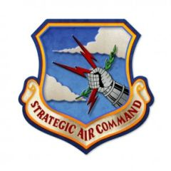 Strategic Air Command Custom Metal Sign SIG-0145