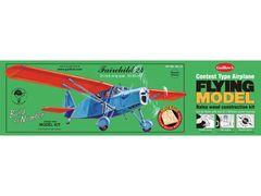 Guillow's Fairchild 24 Laser-Cut Balsa Wood Model Airplane Kit GUI-701