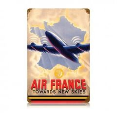 """Air France"" Metal Sign SIG-0146"