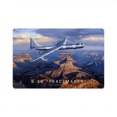 Convair B-36 Peacemaker Metal Sign SIG-0149