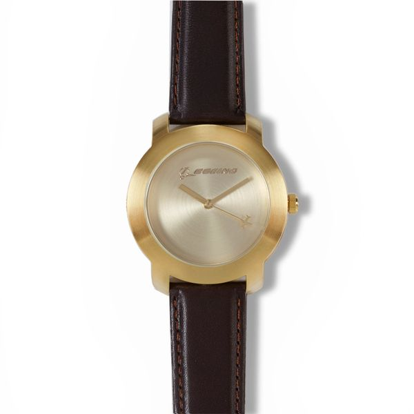 Boeing Rotating Aircraft Watch- Men's Gold BOE-0138MG