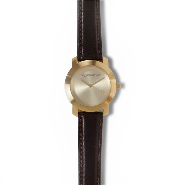 Boeing Rotating Aircraft Watch- Ladies' Gold BOE-0138LG