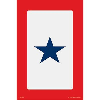 Son in Service Star Aluminum Sign SIG-0161