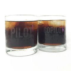 Two-Piece Pilot/Copilot Tumblers MIS-0119