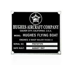 Hughes H-4 Hercules (Spruce Goose) Flying Boat DPL-0112