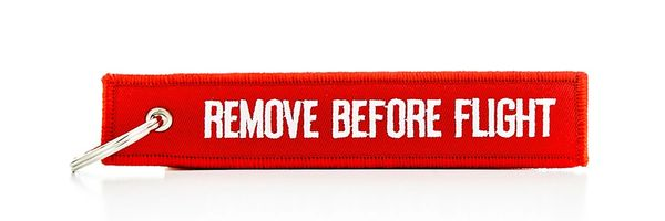 """Remove Before Flight"" Streamer MIS-0101"