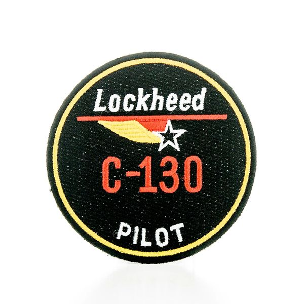Lockheed C-130 Hercules Pilot Embroidered Patch PAT-0101