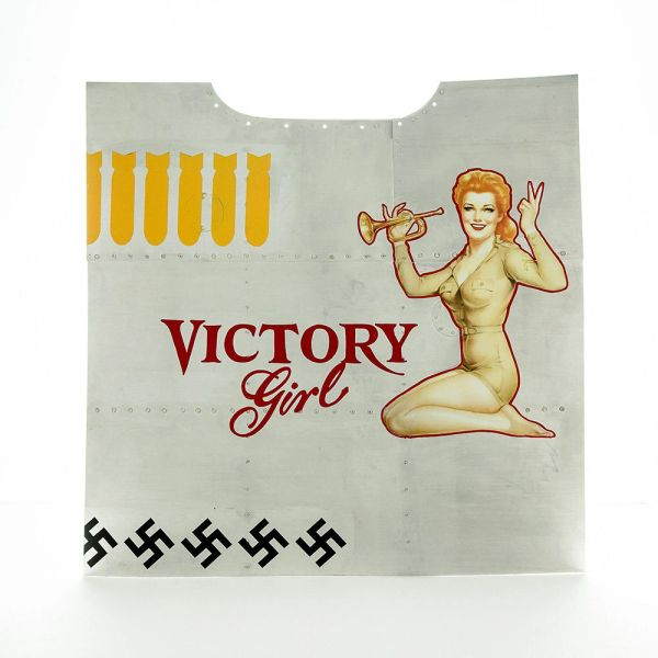 "Nose Art Panel- ""Victory Girl"" NAP-0126"