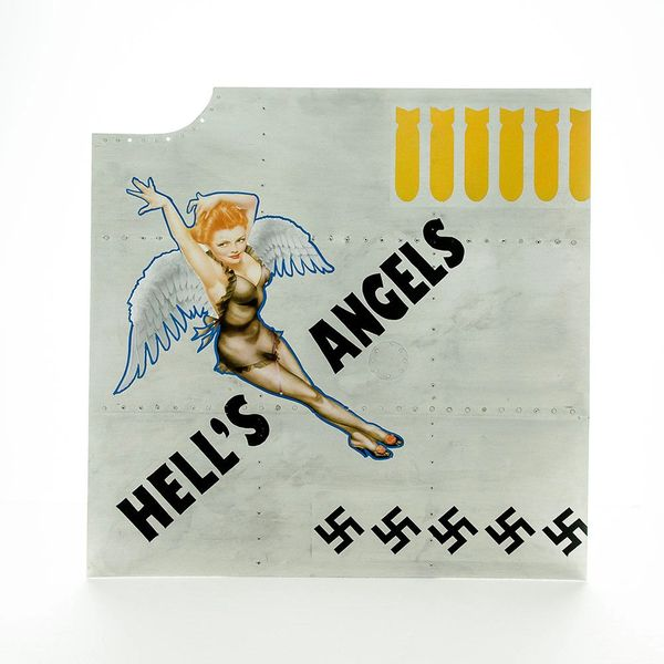 "Nose Art Panel- ""Hell's Angels"" NAP-0127"